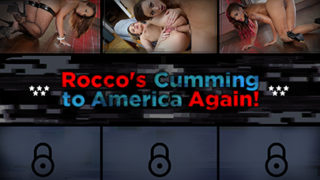 Rocco's Cumming to America Again!